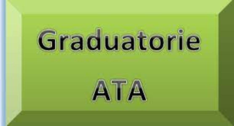 Graduatorie definitive interne di Istituto personale ATA