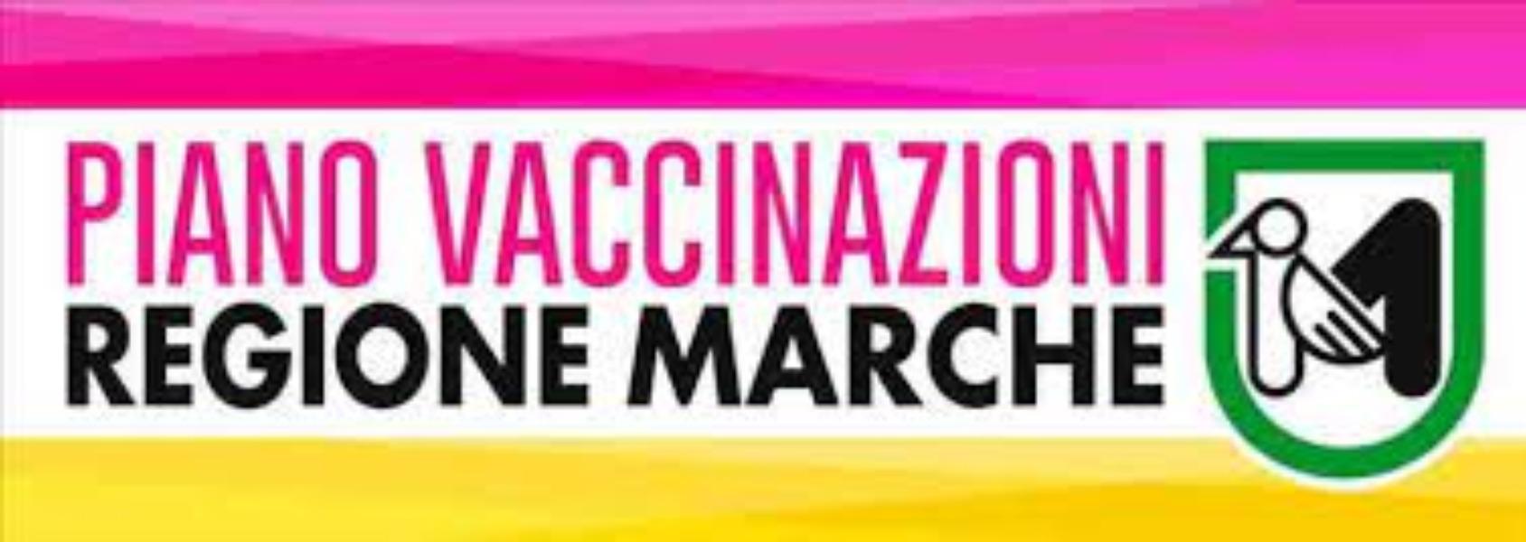 Piano vaccinazioni Regione Marche